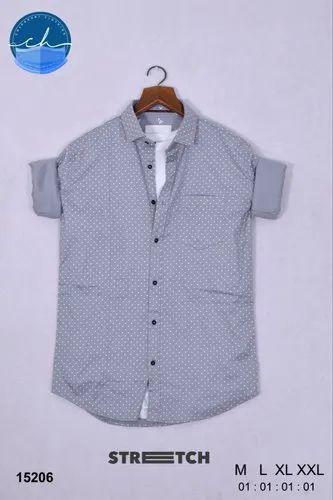 Mens Dotted Shirt
