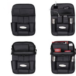 Universal Pu Leather Manufacturer of Car Back Seat Accessories Case with Eat Tray, For Daily Use, Model Name/Number: PBSO-01