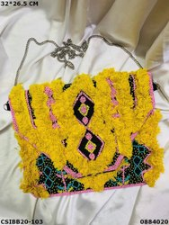 Canvas Casual Exclusive Boho Beaded Bag