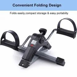 Smart Fitness Cycle Digital Foldable Portable Foot Pedal Exerciser Cycle for Home Gym Fitness