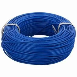 Qwert Square Blue Electrical Wire, Insulation Thickness: 0.3 Mm