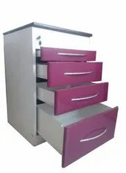 Stainless Steel Mobile Trolley, Load Capacity: 65 Kg Approx