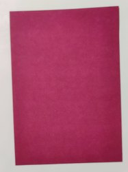 Pastel Maroon Color Chart Paper