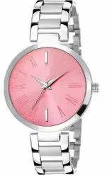 Empero Round Mens Wedding Wear Designer Metal Belt Wrist Watch