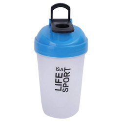 Gym Shaker And Sipper - Life Is A Sport - With Protein Mixer Ball Inside 500 Ml Shaker