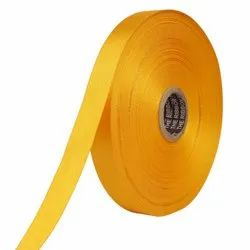 Double Satin NR - Golden Yellow Ribbons25mm/1Inch 20mtr Length