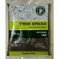 Twin Spices 100gm Black Mustard Seed