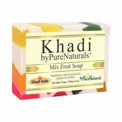 byPureNaturals Khadi Mix Fruit Soap- 125gm