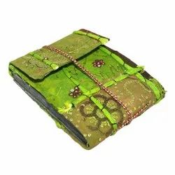 Printed Handmade Paper Diaries, Size: 5x7 Inch