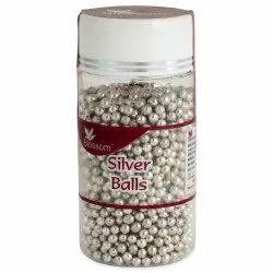 SB2 Blossom Silver Decoration Balls