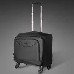 Suntop Black Cabin Luggage Bag, 1, Model Name/Number: 5USBTrolley