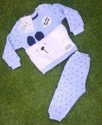 Casual Wear Printed Kid Fancy T Shirt And Pajama Set