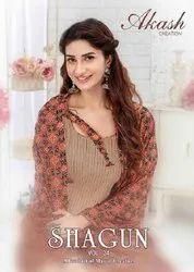 Akash Creation Shagun Vol-24 Printed Cotton Dress Material Catalog