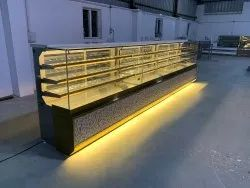 Sweet & Cake Display Counter With Air Flow Cooling System