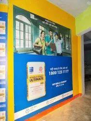 Indoor Advertising Flex In Shop Branding Solutions Service
