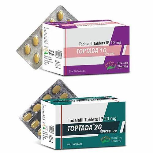 Tadalafil 10mg Tadalafil 20mg Tablets Ed Drugs Erectile Dysfunction Drugs Ed Medicines Sexual Dysfunction Medicines Impotence Medicines Healing Pharma India Private Limited Mumbai Id 22851743555