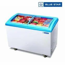 Small Blue Star 182 Ltrs Premium Display Freezer PDF200AG
