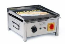 Silver Stainless Steel DOSA HOT PLATE 15X15 TABLE TOP (VOLTERSON), For Restaurant