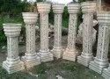 Wedding mandap stage designer pillar