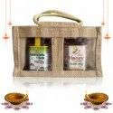 Gift Pack Ashwagandha & Herbs Enriched Honey, 225g & Raw Honey Enriched With Royaljelly, 250G