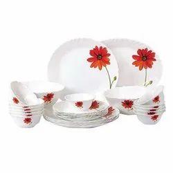 Ceramic White GGC-16 Promotional House Hold Dinner Set, For Gifting Purpose