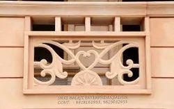 Balcony Sandstone Railings, Floor
