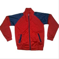 Plain Polyester Corporate Promotional Jacket, Size: M-XL