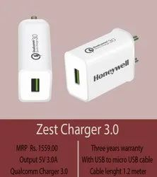 1.2 M White Honeywell Zest 3.0 Charger