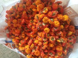 Orange Lucky Fresh Flowers For Wedding Decoration