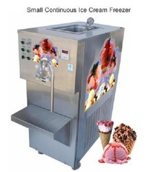 Small Continuous Ice Cream Freezer