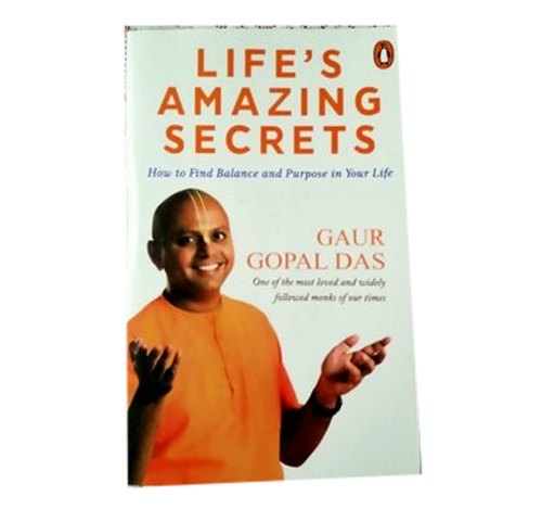 Fiction English Life' s Amazing Secrets General Books, Packaging Size: 19.9 X 1.2 X 13.5 Cm, Gaur Gopal Das