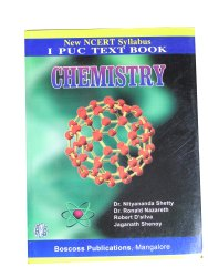 1 Puc Chemistry Text Books