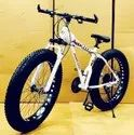 Audi Dolphin White  Fat Tyre Cycle