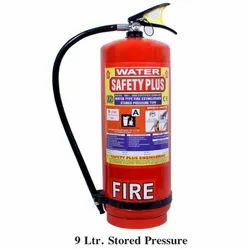 Safety Plus Mild Steel 9L Stored Pressure Water CO2 Fire Extinguisher