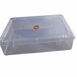 Transparent Plastic Storage Boxes