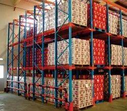 Orange and Blue Drive In Storage System, 1000 Kg Per Platform