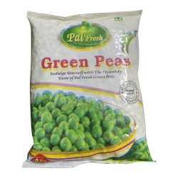 A Grade 1 Kg Green Peas, Packet