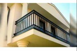 Balcony Galvanized Iron Railing, For Home