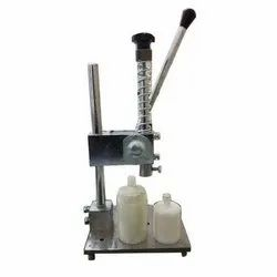 LED Bulb Tikki Fitting Machine, Production Capacity: Up To 10000 Per Day
