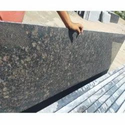 Polished Tan Brown Granite Slab, Flooring and Countertops, Thickness: 15-20 mm