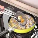 Stainless Steel Snack Fryer Filter Spoon with Clip