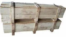 Pine wood Industrial Wooden Packaging Box, Weight Holding Capacity(Kg): >1000 Kg