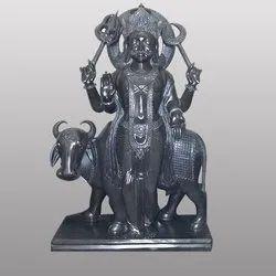 Marble Lord Shani Dev Black Statue