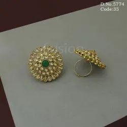 American Diamond Adjustable Finger Ring