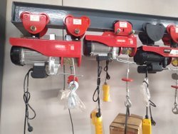 Portable Electric Hoists 1200 kg