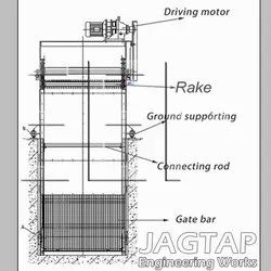 Mechanical Trash Rake Bar Screen Wastewater Treatment Equipment