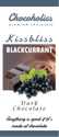 Chocoholics Kiss Bliss Blackcurrent Dark Chocolate