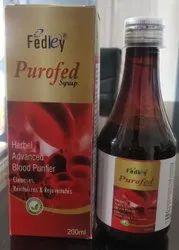 Blood Purifier Ayurvedic Syrup With Monocarton