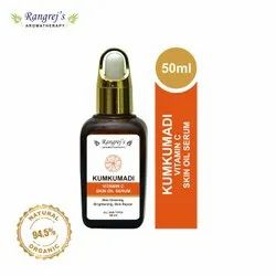 Rangrej's Aromatherapy Kumkumadi Vitamin C Skin Serum, For Skin Clearing 50ml