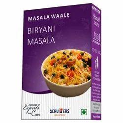 Masala Waale Biryani Masala, Packaging Size: 50 g, Packaging Type: Packets